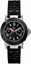 New Authentic Guess Collection I43002L1 Black Stainless Bracelet Ladies Watch