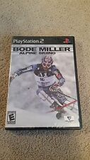 BODE MILLER ALPINE SKIING FOR PLAYSTATION 2 PS2 BRAND NEW, STILL FACTORY SEALED!