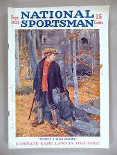 National Sportsman - September, 1923