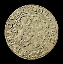 Fsm. Pfalz-Zweibrücken-Veldenz, Johann I., 3 Kreuzer 1599, Erhaltung, R!