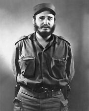 Prime Minister of Cuba FIDEL CASTRO Glossy 8x10 Photo Print Cuban Leader Poster