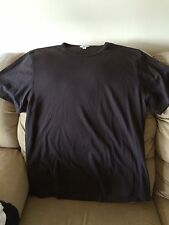 Calvin Klein Mens Brown XXL T-Shirt 100% Cotton Soft Previously Owned