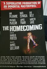 The Homecoming Signed Broadway poster Raul Esparza Eve Best RARE