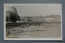 R&L Postcard: Hastings from the Pier 1946