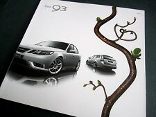 SAAB 9-3 - 2009 UK BROCHURE. Convertible/ Sportwagon/ Vector Sport/ Airflow