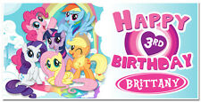 My Little Pony Custom Birthday Party Banner Decoration