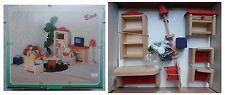 Mobili in legno soggiorno per casa casetta delle bambole marca Bino (no pupazzi)