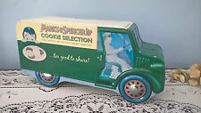 MARKS & SPENCER COOKIE BISCUIT DELIVERY VAN TIN - EMPTY