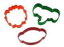 Wilton 3 Set Jungle Cutters Animals Lions Monkeys Elephants Cookie Party Baking