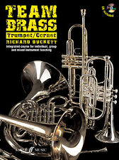 Team Brass Trumpet Cornet Instrumental Solo Learn to Play FABER Music BOOK & CD