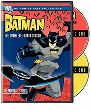 BATMAN : COMPLETE SEASON 4 (DC Animated) - DVD - UK Compatible -  sealed