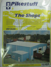 Pikestuff HO Scale The Shops Building Kit NEW 541-0015