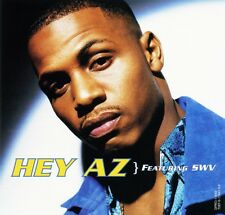 "AZ ""HEY AZ"" Feat. SWV (Promo Maxi CD Single) (1997) RARE"