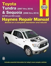 2007-2014 Toyota Tundra Sequoia Pickup Truck Haynes Repair Service Manual 1863