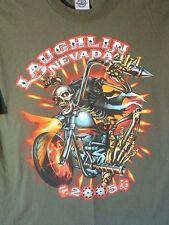 LAUGHLIN RIVER RUN,NEVADA 2005, shirt, M, HARLEY-DAVIDSON