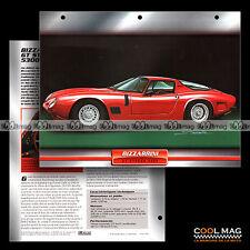 #029.08 ★ BIZZARRINI GT STRADA 5300 V8 1963 ★ Fiche Auto Car card