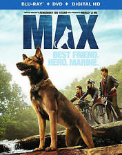 Max (Blu-ray/DVD, 2015, 2-Disc Set, Includes Digital Copy; UltraViolet) NEW