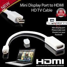 Porta Mini Display a HDMI ADATTATORE APPLE PRO MACBOOK MAC AIR IMAC UK