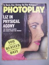 PHOTOPLAY MAGAZINE MAY 1964 LIZ PHYSICAL AGONY YOU BEATLES FABULOUS DATE