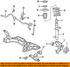 FORD OEM 00-07 Focus Lower Control Arm-Front-Bushings 7S4Z3069A
