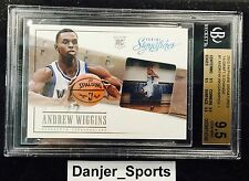 2013-14 Panini Signatures Draft X-Change Redemption Andrew Wiggins RC BGS 9.5