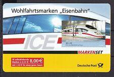 BRD 2006 gestempelt Weiden Markenheft MiNr. 64  Eisenbahn ICE