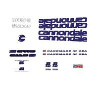 Cannondale CAAD 5 Bicycle Frame Stickers - Decals - Transfers: Black. n.13
