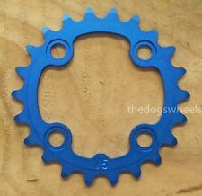 Aerozine 22T Chainring Chain Ring MTB Bicycle Bike 22 Teeth 64mm BCD Blue