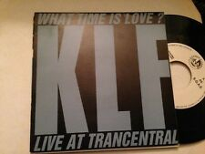 "KLF SPANISH PROM0 7"" SINGLE SPAIN WHAT TIME IS LOVE"