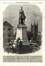1862 George Stephenson Monument At Newcastle Upon Tyne