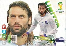 2014 Panini Adrenalyn World Cup EXCLUSIVE Giorgos Samaras Limited Edition MINT