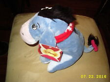 "Disney Winnie the Pooh Christmas Winter Holidays Eeyore w/Scarf Plush Toy 9"" NWT"