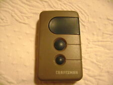 Craftsman 3 Button Garage Door and Gate Remote Opener 139.53681B