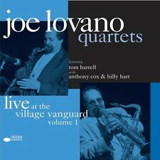 JOE QUARTET LOVANO -AT THE VILLAGE VANGUARD(REM.LTD.EDT.+DL-CODE)2 VINYL LP NEU
