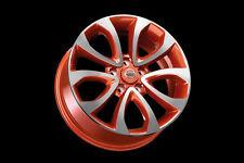 """Nissan Juke F15 Genuine Car 17"""" Alloy Wheels set 4 Aluminium Orange KE4091K200OR"""