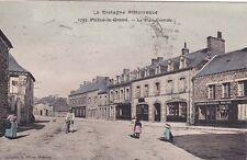 PLEAN-LE-GRAND 1743 place centrale mag. proprio GUENARD hôtel ALLAIRE timb 1933