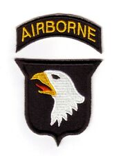 "WWII - 101st AIRBORNE ""Tab Détaché"" (Reproduction)"