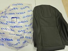 NEW, VOLVO OEM  2013 2014  S60 Black leather factory seat back cover factory