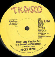 ROCKY MIZELL - Let's Go Dancing / I Don't Care What You Say