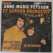 Anne-Marie Peysson 45 Tours RCA