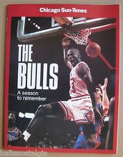 B.J. Armstrong & Will Perdue Signed 1991 Chicago Bull Season to Remember Book