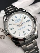 Rolex Milgauss 116400 White Dial Automatic Mens Watch