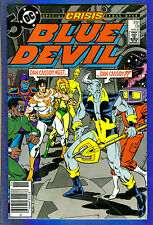 BLUE DEVIL # 18  - 1986 DC (fn)  Crisis Cross-over