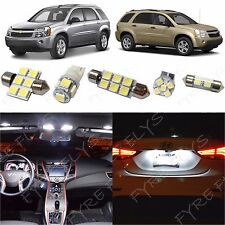 6x White LED lights conversion kit for 2005-2009 Chevy Equinox/Saturn Vue #CE2W