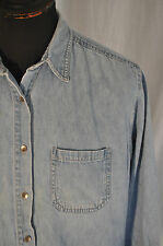Vintage women's Lee denim shirt size large western trucker grunge