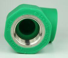 PPR Aqua-Plus 90° Winkel für 25mm Rohre mit 1/2 Zoll Außengewinde