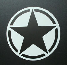 "Sticker Aufkleber Matt-Optik ""Black Star"" Laptop, Smartphone, Stickerbomb ..."
