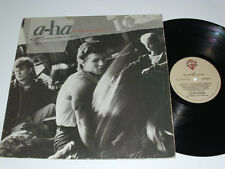 A-HA hunting high and low - 1985 debut LP - BRAZIL release RARE