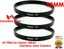 YellowKnife -3X Ultra 58mm UV Filter Lens for Canon,Nikon,Sony,Olympus,Panasonic