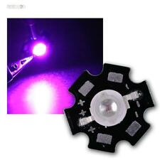 10 x POWER LED Chip auf Platine 3W UV Schwarzlicht HIGHPOWER STAR ultraviolett